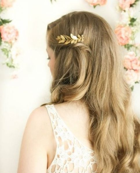 Hairpiece hairp 8034 gold 2 headpin_mewah
